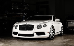Picture Bentley, Continental, wheels, color, Vossen, lowered, matched