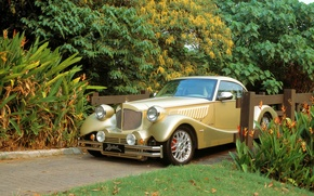 Picture car, vintage, bufori, old style
