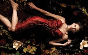 Wallpaper woman, actress, the series, Nina Dobrev, The vampire diaries