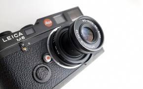 Picture macro, Leica M6, MS optical Apoqualia 50mm f3.5, background, camera