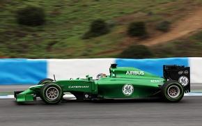 Picture Formula 1, Caterham, Kamui Kobayashi, CT05