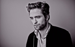 Picture Robert Pattinson, photoshoot, for a movie Star map, Maps to the Stars