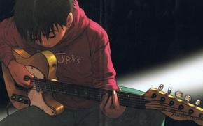 Wallpaper guitar, fun, Tanaka Yukio, pleasure, mongolian chop squad, Tanaka Yukio, BECK, Mongolian chop team, BECK, ...