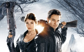 Picture Gemma Arterton, Jeremy Renner, Hans and Greta, Hansel and Gretel witch hunters, Hansel and Gretel …