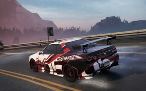Picture Nissan, 2012, Need for Speed, nfs, Skyline, R34, Most Wanted, NSF, NFSMW, GTRVSpecII