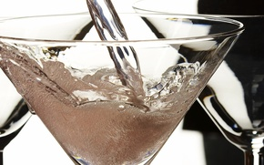 Wallpaper Stream, cocktail, Bubbles