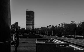 Picture white, black, shore, thoughts, Peter, edge, photographer, Saint Petersburg, Bay, male, infinity, SPb, Amateur, Park …