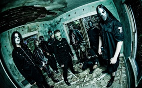 Picture music, group, slipknot