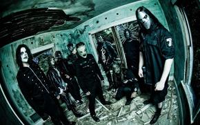 Wallpaper group, slipknot, music