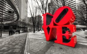 Picture Park, Avenue, Love, PA, Pennsylvania, Philadelphia, plaza, Robert Indiana, LOVE Park, Filadelfia