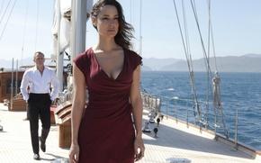 Picture sea, frame, yacht, agent, Daniel Craig, 007, James Bond, Daniel Craig, Skyfall, Berenice Marlohe, Bérénice …