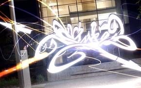 Picture graffiti, style, night