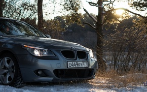 Picture car, bmw, style, sony, night, moscow, low, e60, smotra, bimmer, drive2, a99, Dmitry Bimmer