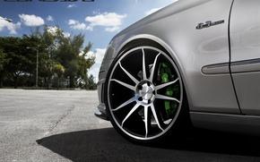 Picture machine, auto, wheel, Mercedes Benz, auto, Black, Matte, Wheels, Concave, CW-S5, E-500