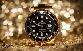 Picture watch, rolex, Golden Hour
