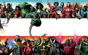 Picture marvel, heroes, villains, encyclopedia