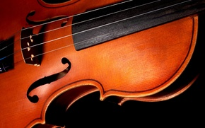 Wallpaper BACKGROUND, BLACK, MACRO, STRINGS, VIOLIN