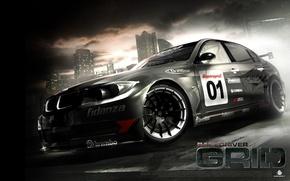Wallpaper sport, BMW, GRID