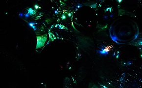 Picture decoration, holiday, toys, new year, light bulb