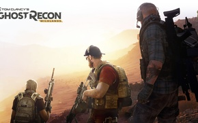 Picture Ubisoft, Ghost Recon, Tom Clancy's, Tom Clancy's Ghost Recon Wildlands, Wildlands