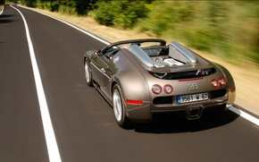 Wallpaper road, Bugatti, veyron