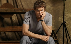 Picture look, actor, male, Dexter, the series, Dexter, Michael C. Hall, Michael C. Hall, Dexter