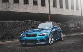 Picture BMW, BMW, atlantis, blue, tuning, E92