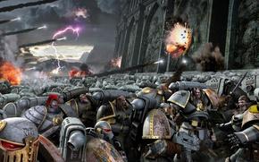 Picture storm, Neil Roberts, warhammer 40K, Horus Rising, Luna Wolves