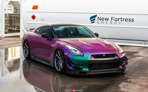Picture GTR, Nissan, Forged, Vossen
