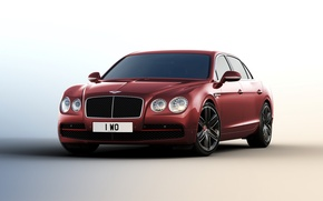 Wallpaper Bentley, Flying Spur, Bentley, Beluga, 2015