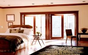 Picture design, house, style, room, Villa, interior, apartment, bedroom