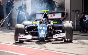 Picture blur, team, the car, car, Formula-1, championship, team, race, Moscow, bokeh, main, track, Formula 1, …