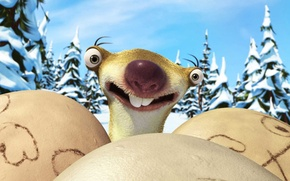 Picture cartoon, ice age, Ice Age, sloth