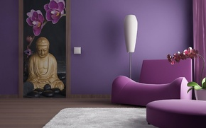 Picture design, style, room, interior, chair, Wallpapers