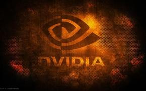 Wallpaper Nvidia, Logo, GeForse
