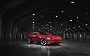 Wallpaper Tesla, Tesla, electric car, Model S