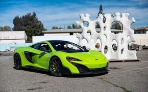 Picture McLaren, Green, 675LT, Napier, 5365