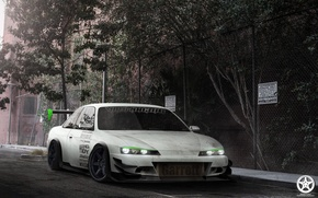 Picture Nissan, auto, tuning, silvia, s14