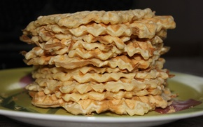 Picture food, waffles, cakes, delicious