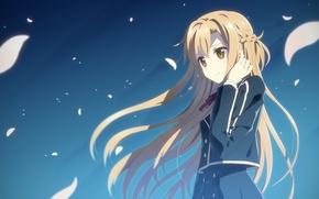 Picture game, anime, pretty, cherry, asian, cute, manga, pretty girl, japanese, Yuuki Asuna, Sword Art Online, …