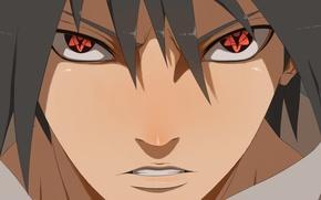 Picture naruto, art, sasuke uchiha, mangekyou sharingan infinito, ilyesgnei