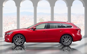 Picture Mazda 6, Mazda, universal, Wagon, 2015