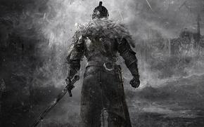 Wallpaper fur, Dark Souls, dark souls, knight, knight, warrior, hardcore