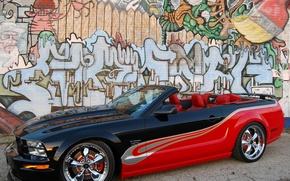 Wallpaper grafiti, custom, wall