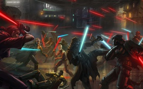 Picture art, star wars, star wars, the Jedi, the old republic, Sith