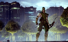 Wallpaper Oliver Queen, Green Arrow, Green arrow, DC Comics