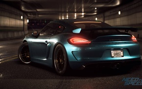 Wallpaper tuning, Porsche, Cayman, Need For Speed 2015