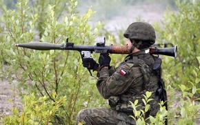 Wallpaper weapons, soldiers, Polish Army
