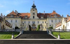Picture city, castle, building