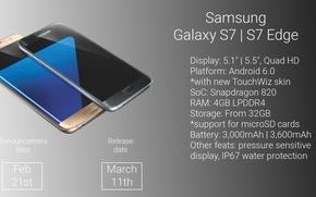 Picture edge, galaxy, samsung, 2016, samsung galaxy s7